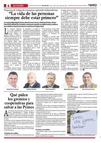 Page 6 of Solicitan a las autoridades regionales