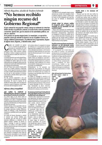 Page 9 of Solicitan a Subdere una transferencia