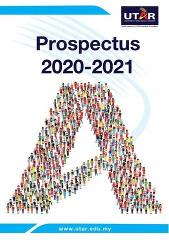 Universiti Tunku Abdul Rahman Utar Prospectus 2020 21 By Cn Very Issuu