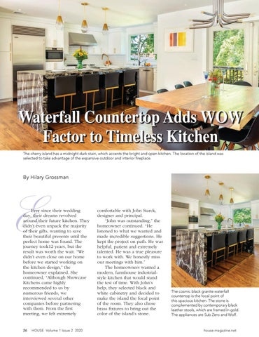 Page 28 of Waterfall Countertop Adds WOW Factor to Timeless Kitchen