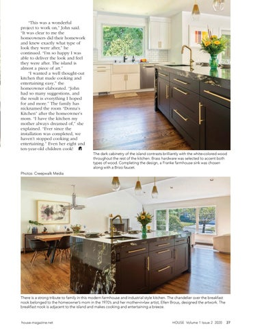 Page 29 of Waterfall Countertop Adds WOW Factor to Timeless Kitchen