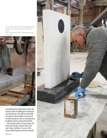 Page 79 of Spotlight on Business Johnson Marble & Granite A Family Legacy Paul Post