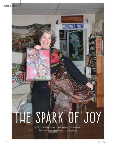 Page 84 of Time Travels The Spark of Joy Susan Orzell-Rantanen and Cassie Horner