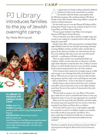 Page 16 of overnight camp