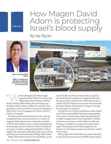 Page 38 of ISRAEL How Magen David Adom is protecting Israel's blood supply
