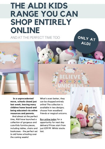 Page 13 of THE ALDI KIDS RANGE YOU CAN SHOP ENTIRELY ONLINE