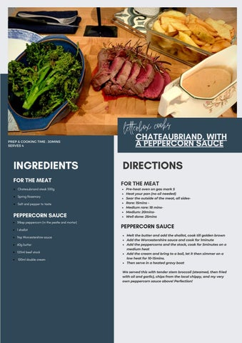 Page 32 of Recipe : CHATEAUBRIAND, WITH A PEPPERCORN SAUCE