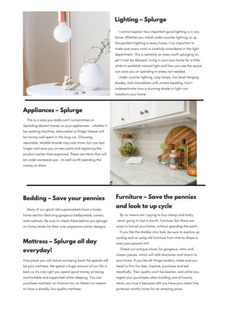 Page 7 of New Home Interiors : What to spend and what to save on.