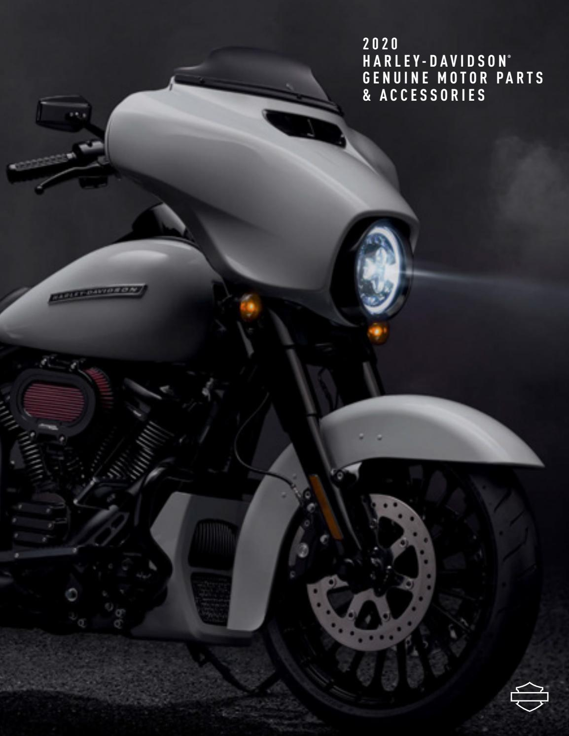 Harley Davidson My20 Parts Accessories Catalogue By Motorcycle Holdings Issuu