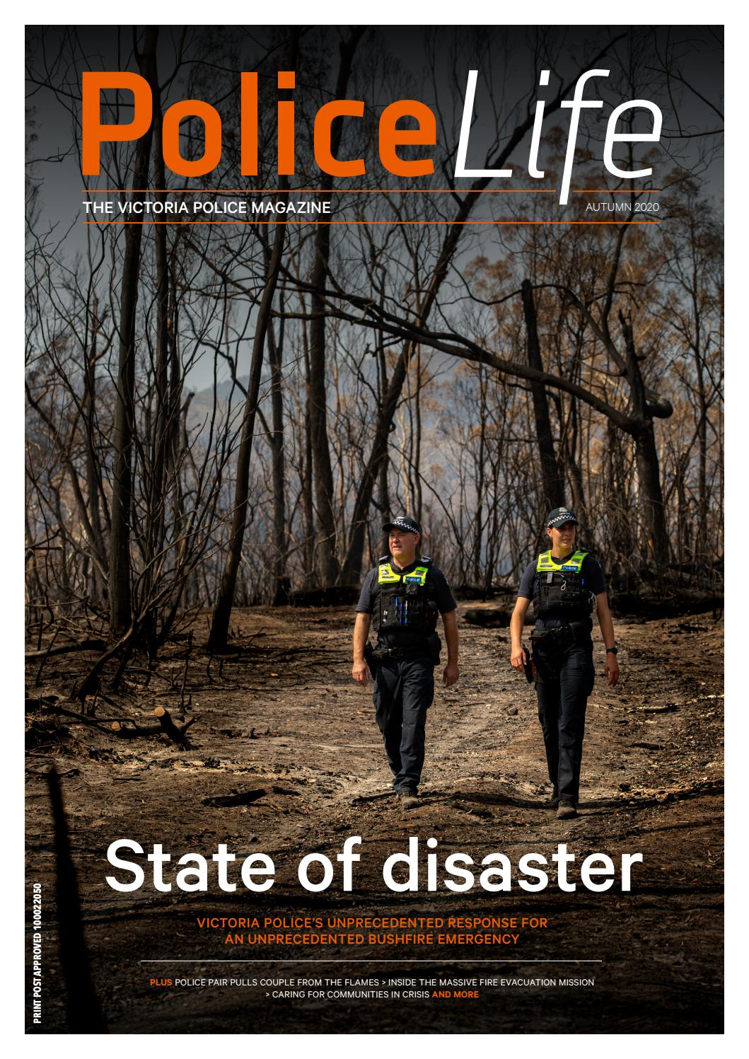 Police Life Autumn 2020 By Victoria Police Issuu