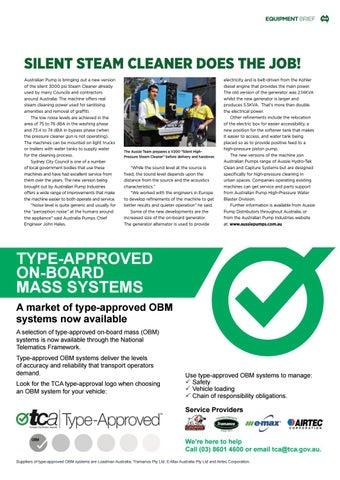 Page 23 of Equipment Brief: Aussie Pumps