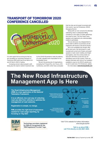 Page 29 of iMove CRC Feature