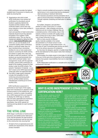 Page 31 of ACRS Feature - 2-Stage Certification