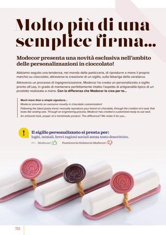 Page 72 of Sigillo Personalizzato/Chocolate Signet