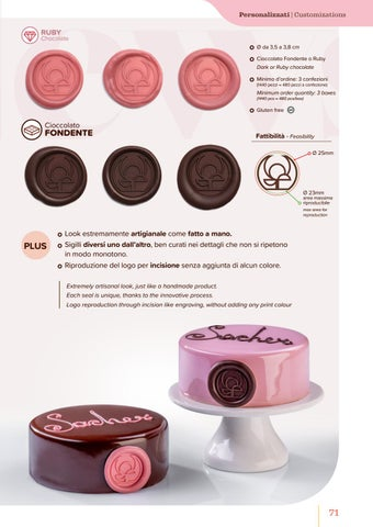 Page 73 of Sigillo Personalizzato/Chocolate Signet
