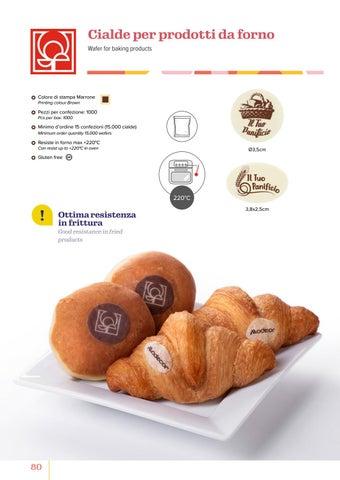 Page 82 of Cialde per prodotti da forno/Wafer for baking products