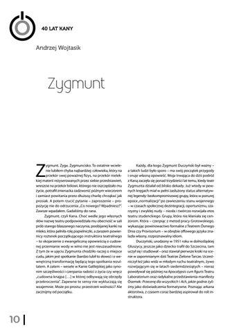 Page 12 of Andrzej Wojtasik - Zygmunt