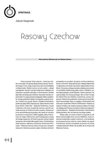 Page 46 of Jakub Kasprzak Rasowy Czechow [Teatr Latarnia, Wiśniowy sad