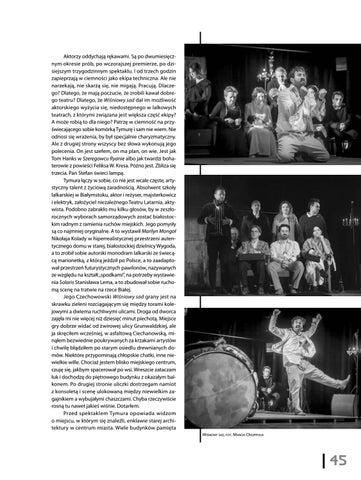 Page 47 of Jakub Kasprzak Rasowy Czechow [Teatr Latarnia, Wiśniowy sad