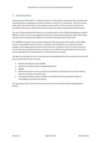 Page 8 of 1 Introduction