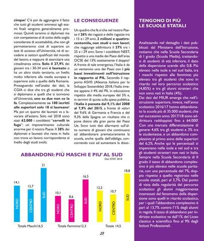 Page 25 of I NUMERI CHE SPIEGANO LA CRISI DEGLI STUDENTI