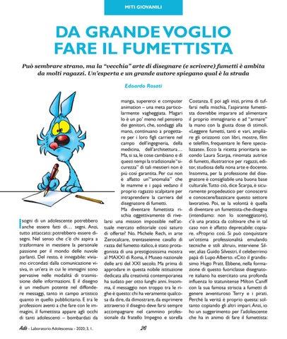 Page 28 of DA GRANDE VOGLIO FARE IL FUMETTISTA