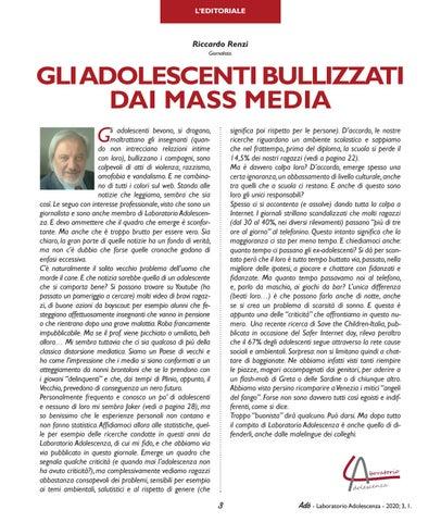 Page 5 of GLI ADOLESCENTI BULLIZZATI DAI MASS MEDIA