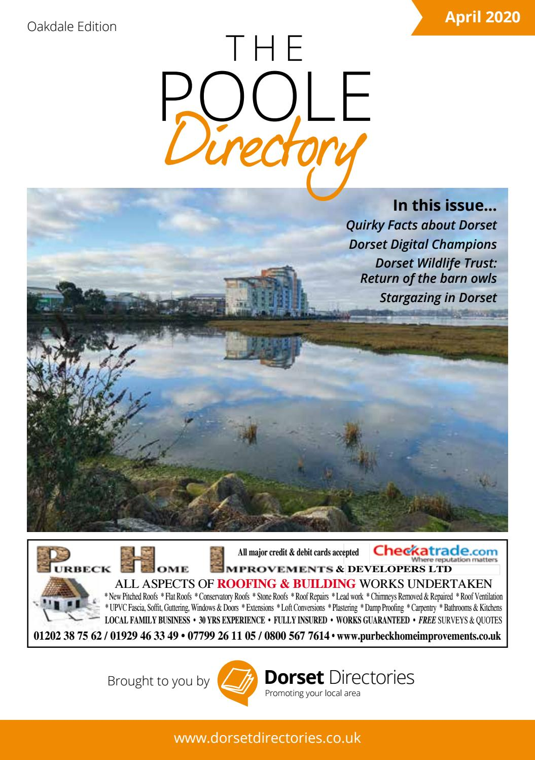 The Poole Directory April 2020 By Dorset Publications Issuu