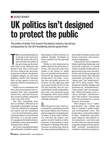 Page 10 of UK politics isn't designed to defend the public