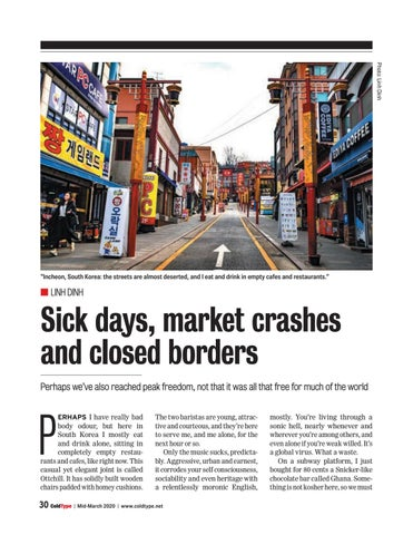 Page 30 of Sick days, market crashes and closed borders