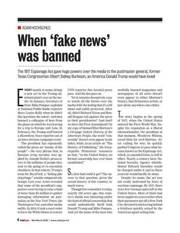 Page 4 of When 'fake' news was banned Adam Hochschild