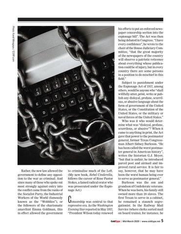 Page 5 of When 'fake' news was banned Adam Hochschild