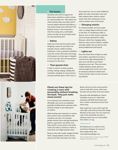 Page 23 of Designing a nursery