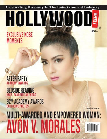avon morales by hollywood weekly magazine llc issuu avon morales by hollywood weekly