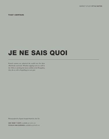 Page 29 of Je Ne Sais Quoi