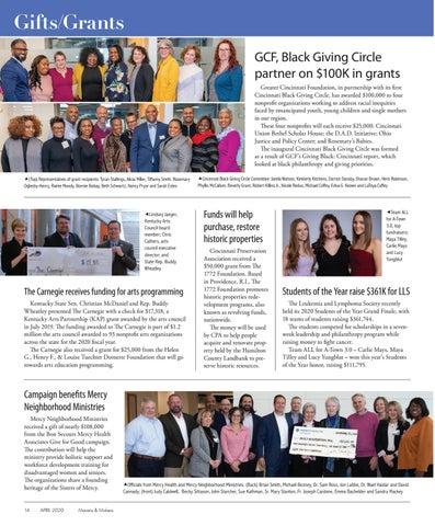 Page 14 of GIFTS & GRANTS   14-15