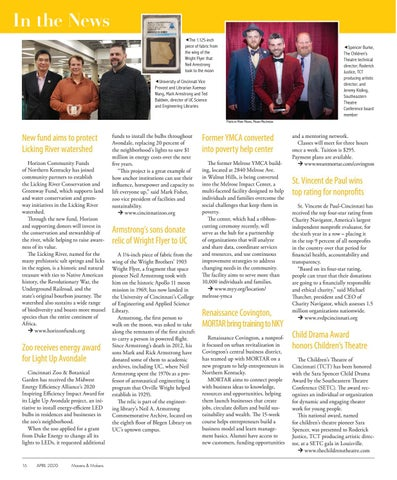 Page 16 of IN THE NEWS   16