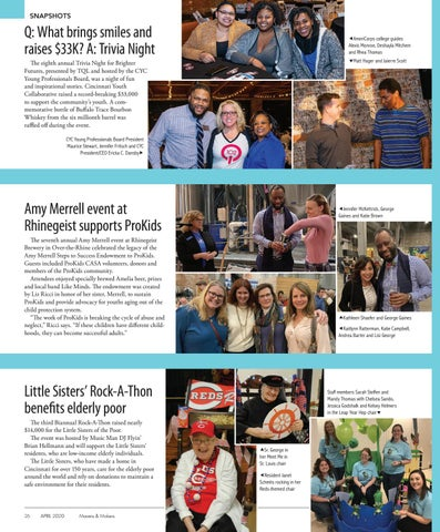 Page 26 of SNAPSHOTS   26-27