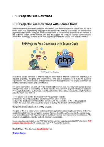 Server for PHP for Android - APK Download | 452x320