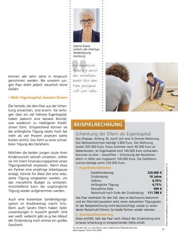 Page 11 of individuelle Finanzierung