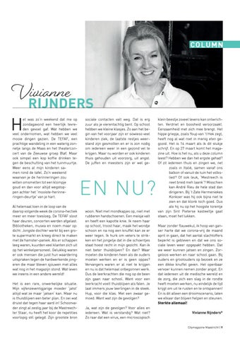 Page 9 of Column Vivianne Rijnders
