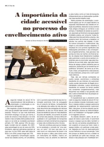 Page 14 of A importância da cidade acessível no