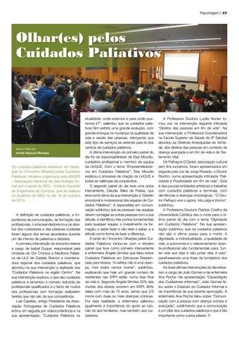 Page 37 of Olhar(es) pelos Cuidados Paliativos