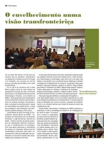 Page 38 of O envelhecimento numa visão transfronteiriça
