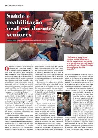 Page 40 of Saúde e reabilitação oral em doentes
