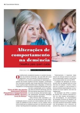 Page 42 of seniores Alterações de comportamento na demência: desafios para quem cuida