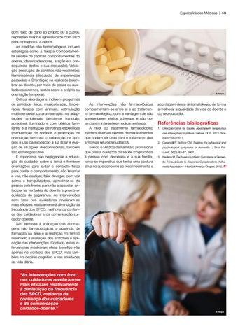 Page 43 of seniores Alterações de comportamento na demência: desafios para quem cuida