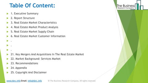 Page 3 of Real Estate Market Product Analysis