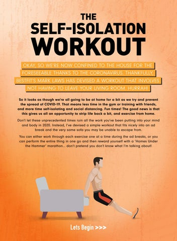 Page 14 of The Self-Isolation Home Workout
