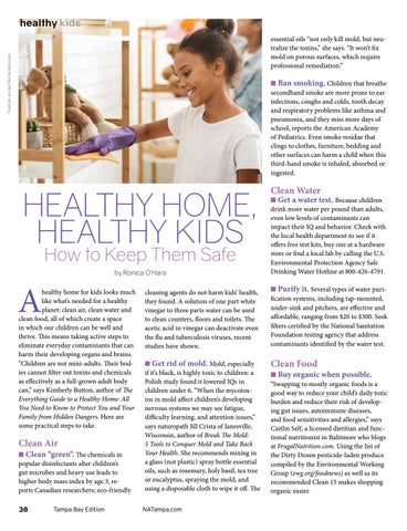 Page 38 of HEALTHY HOME